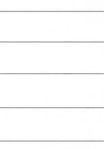 image découpage lignes horizontales