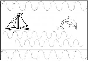 image les vagues de la mer