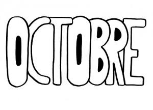 image paint 10 mois d'octobre pour graphisme vierge