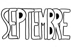 image paint 9 mois de septembre pour graphisme vierge