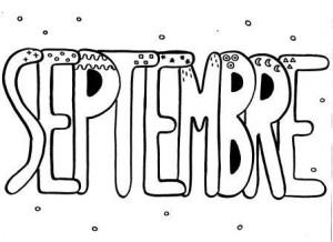 image mois de septembre graphisme