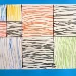 Lignes verticales et horizontales