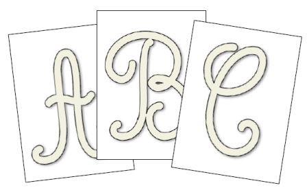 alphabet maternelle alphabet majuscule cursive lettres creuses - Lettre Majuscule A Imprimer