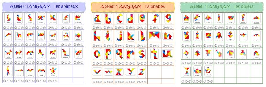 Feuilles de route Tangram