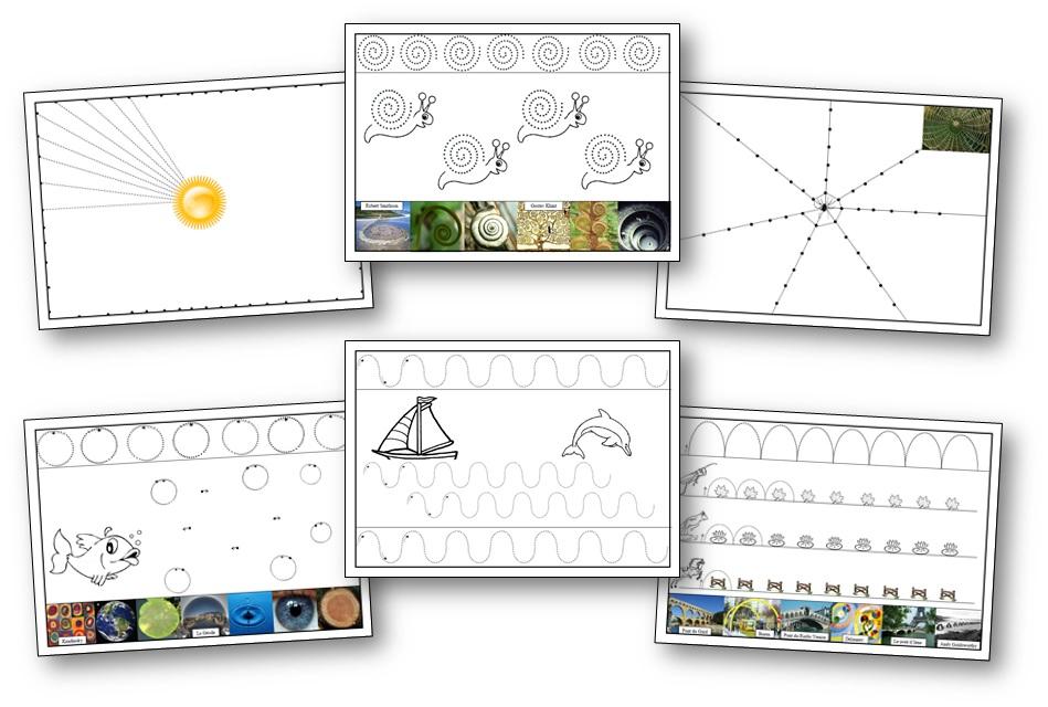 Quelques Fiches De Graphisme A Imprimer Pour La Maternelle Fiches Graphisme