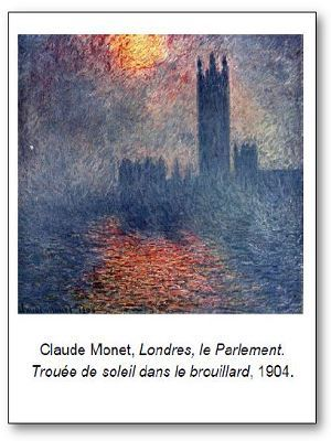 Claude Monet Londres le Parlement
