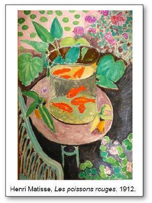 Henri Matisse Les poissons rouges