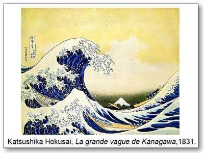 Katsushika Hokusai La grande vague de Kanagawa