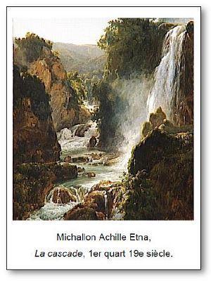 Michallon Achille Etna La cascade