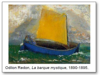 Odilon Redon La barque mystique