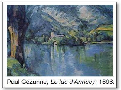 Paul Cézanne Le lac d'Annecy