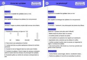 image jeux phonologie sur les syllabes maternelle: phonologie maternelle