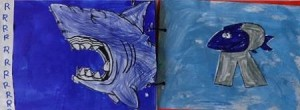 Abécédaire animaux lettre R requin