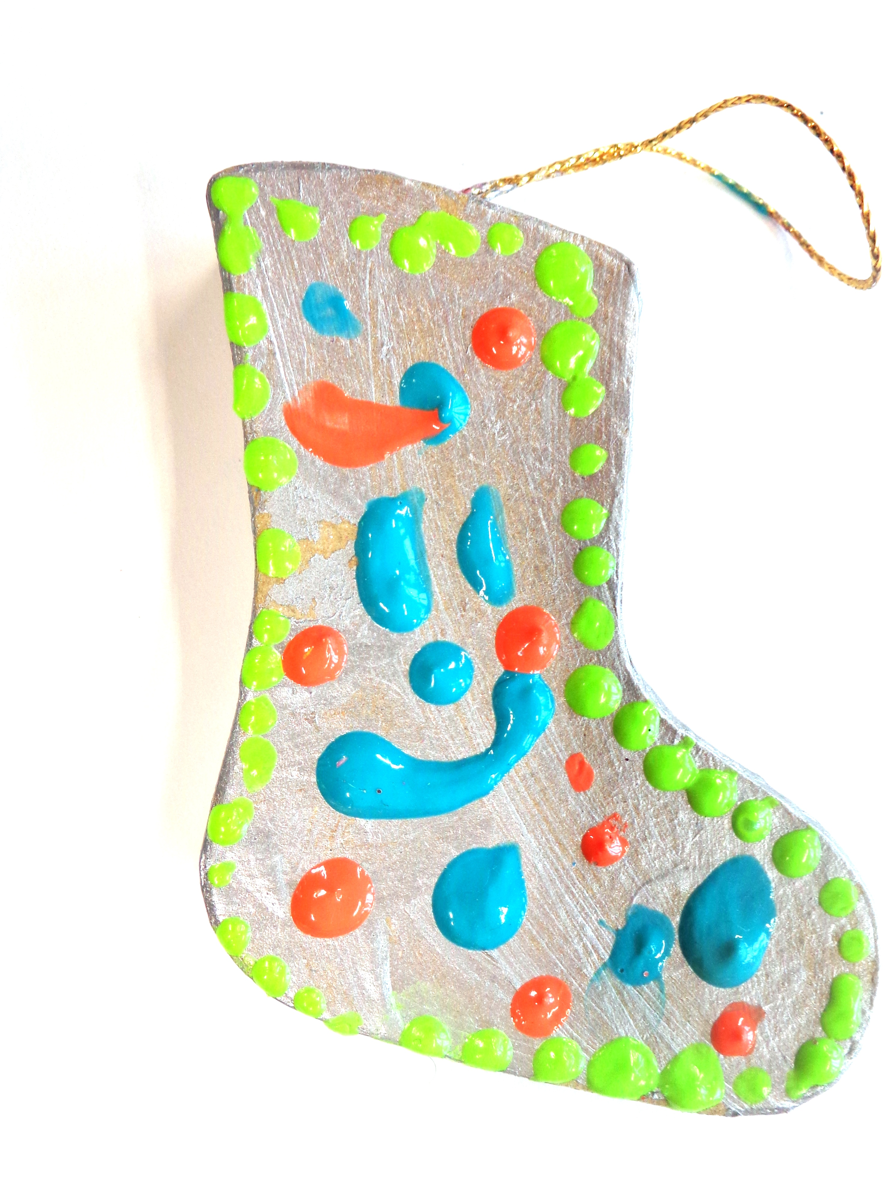 Chaussettes décoration Noël