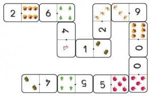 Dominos de Noël