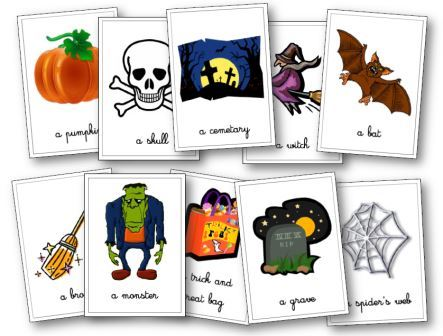 halloween anglais Flashcards