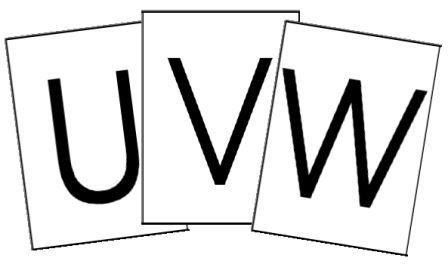 Alphabet majuscule script