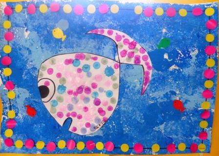 La mer et les poissons en maternelle activit s jeux et - Le petit poisson rouge maternelle ...