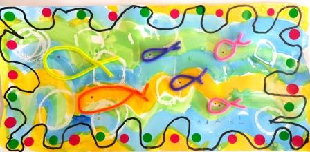 Production sur le thème des poissons