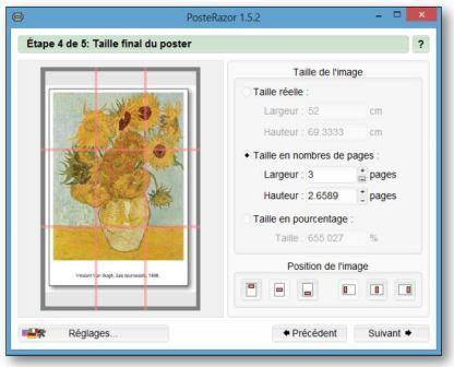 Lien vers le logiciel pour fabriquer ses propres posters