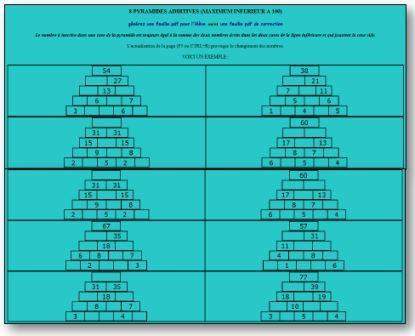 Générateur de pyramides