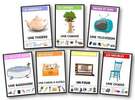 jeux des 7 familles gratuits imprimer sur les animaux la nourriture. Black Bedroom Furniture Sets. Home Design Ideas