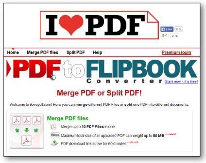 Logiciel pour fusionner des documents PDF