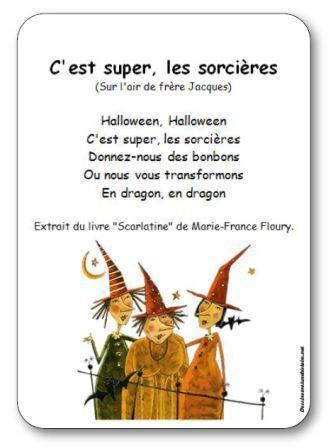Comptine C Est Super Les Sorcieres Marie France Floury
