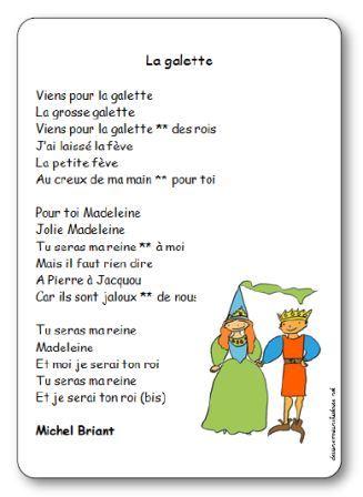 Chanson La galette Michel Briant, la galette des rois chanson michel briant