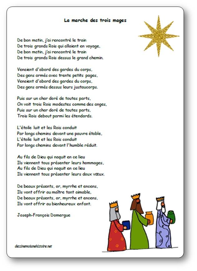 La marche des rois mages de Joseph-François Domergue