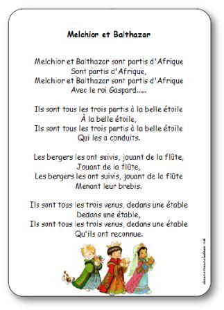 Chanson Melchior et Balthazar