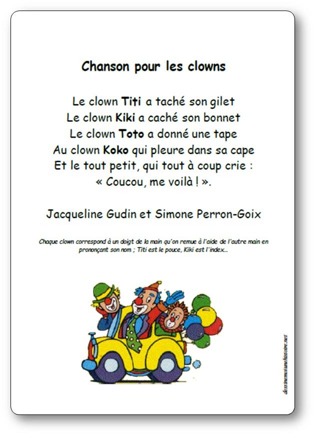 Chanson pour les clowns