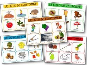 Le loto de l 39 automne dessine moi une histoire - Fruits automne maternelle ...
