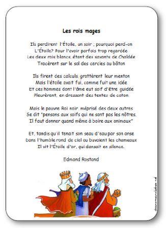 Poésie Les rois mages de Rostand, poésie rois mages rostand
