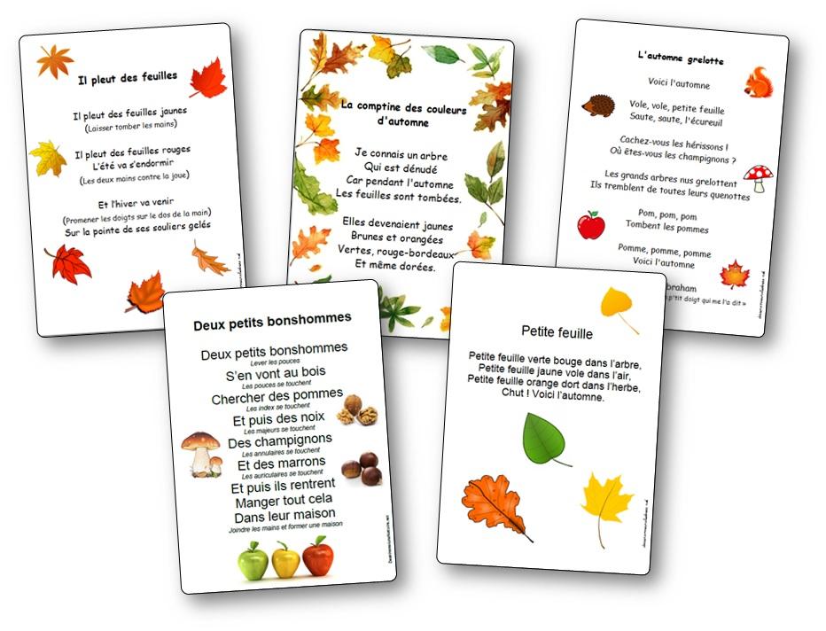Chansons d'automne