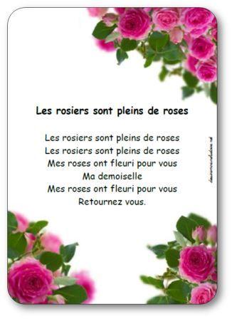 Ronde, jeux dansés maternelle, tresse et farandole, Danse Mes rosiers sont pleins de roses
