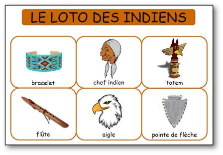 Loto des indiens