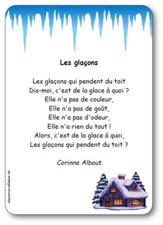 Poésie Les glaçons Corinne Albaut