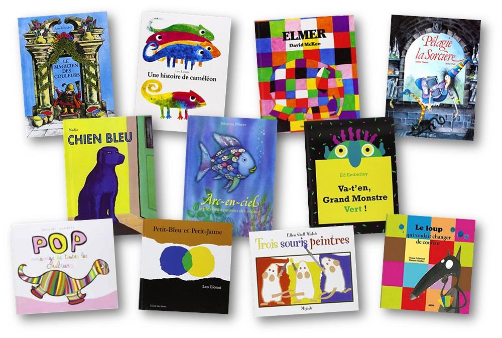 Sehr Des albums pour apprendre les couleurs RR42