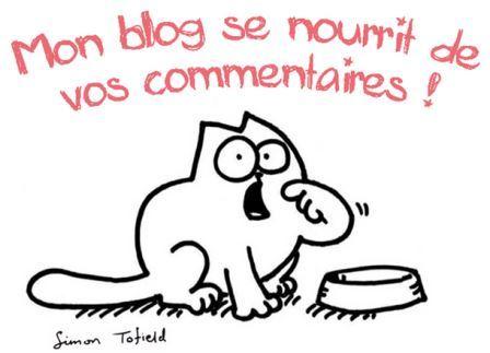 Image Mon blog se nourrit de vos commentaires