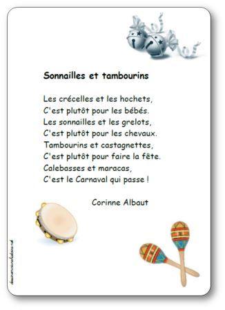 Po sie illustr ee sonnailles et tambourins de corinne albaut - La cuisine de corinne ...