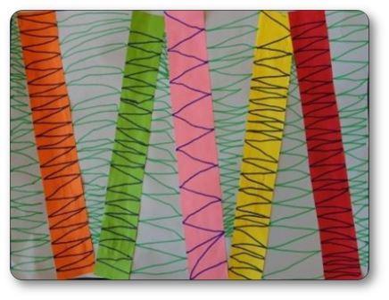 Atelier graphique lignes brisées moyenne section