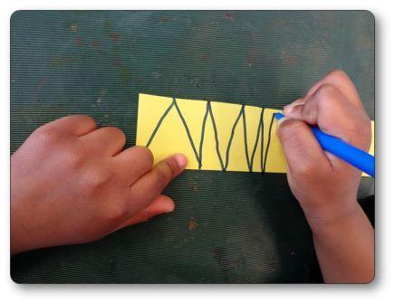 Atelier graphique lignes brisées
