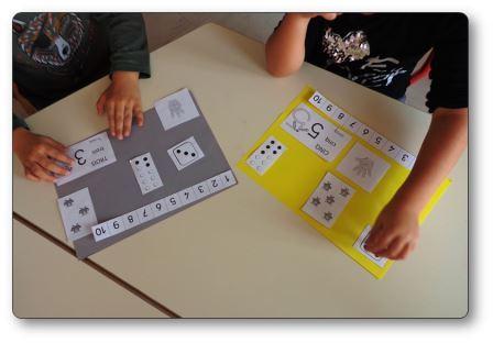 Fabriquer un livre compter ou un livre des nombres en - Fabriquer un album photo maison ...