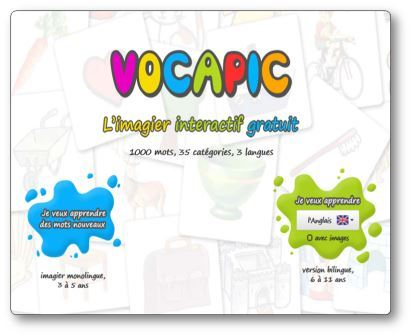Imagier interactif Vocapic