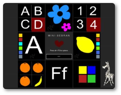 Logiciel Minisebran, logiciel éducatif maternelle