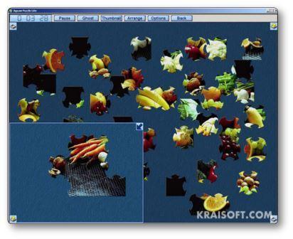 Réaliser des puzzles en ligne avec Jigsaw Puzzle Lite