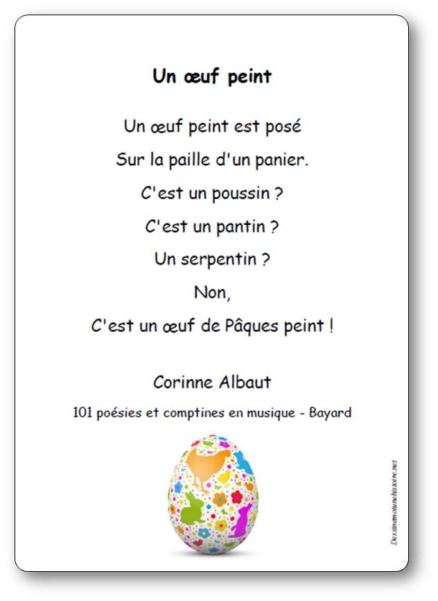 Un oeuf peint de Corinne Albaut