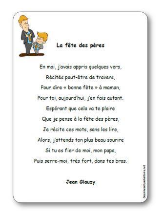 Comptine La fête des pères de Jean Glauzy, fête des pères Jean Glauzy
