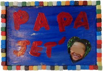 Fabriquer un plateau pour le petit-déjeuner, cadeau fête des pères maternelle